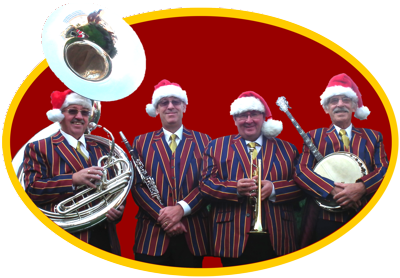 jazzband in festive mood