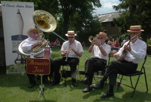 Traditional jazz band for hire in Romsey