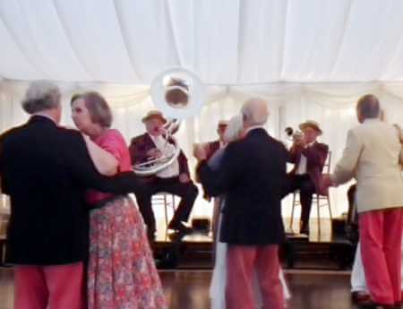dixieland party Band a jungle themed party